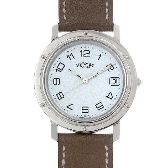 【48回払いまで無金利】エルメス クリッパー CL6.710 メンズ(0F49HEAU0001)【中古】【腕時計】【送料無料】