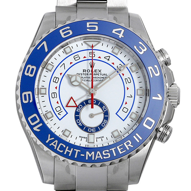 【48回払いまで無金利】ロレックス ヨットマスターII 116680 最新型 メンズ(0CCTROAN0040)【新品】【腕時計】【送料無料】