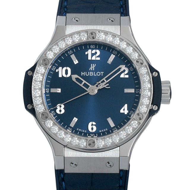 ウブロ ビッグバン スチール ブルー ダイヤモンド 361.SX.7170.LR.1204 メンズ(009FHBAN0144)【新品】【腕時計】【送料無料】