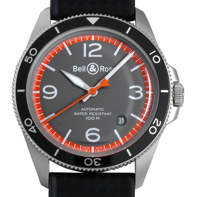 【48回払いまで無金利】ベル&ロス ガードコート BRV292-ORA-ST/SRB メンズ(006MBOAR0009)【新品】【腕時計】【送料無料】