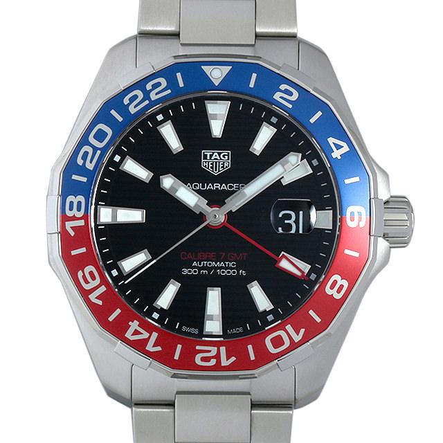 【48回払いまで無金利】タグホイヤー アクアレーサー キャリバー7 GMT WAY201F.BA0927 メンズ(0671THAN0261)【新品】【腕時計】【送料無料】