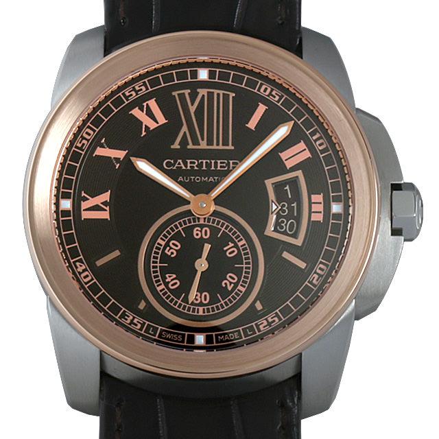 【48回払いまで無金利】カルティエ カリブル ドゥ カルティエ W7100051 メンズ(001HCAAU0092)【中古】【腕時計】【送料無料】