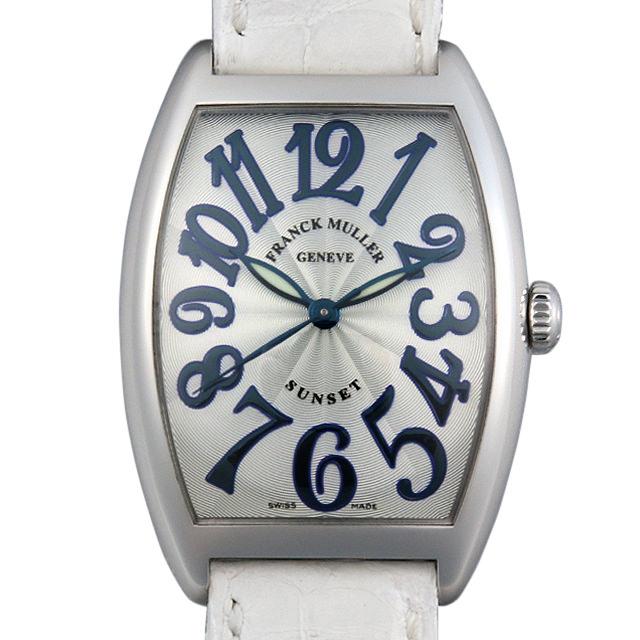 【48回払いまで無金利】フランクミュラー トノーカーベックス サンセット 2852SC SUNSET AC メンズ(001HFRAU0077)【中古】【腕時計】【送料無料】