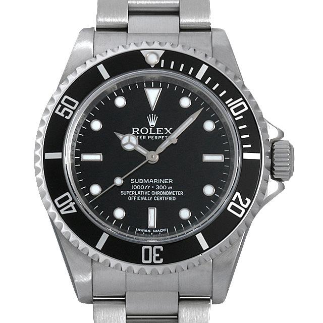 【48回払いまで無金利】ロレックス サブマリーナ ノンデイト ランダムシリアル 14060M メンズ(001HROAU0191)【中古】【腕時計】【送料無料】