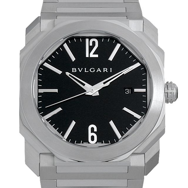 【48回払いまで無金利】ブルガリ オクト BGO41BSSD メンズ(006TBVAU0007)【中古】【腕時計】【送料無料】