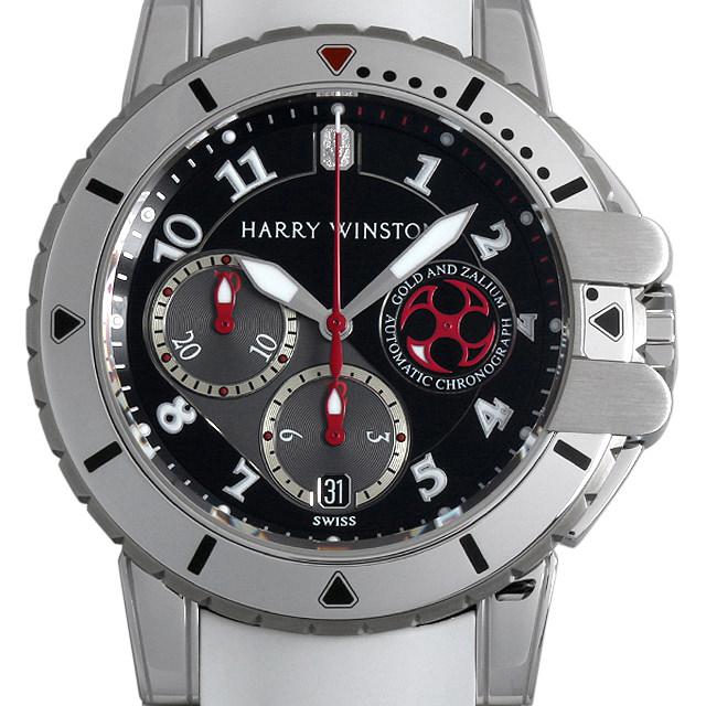 【48回払いまで無金利】ハリーウィンストン ハリーウィンストン オーシャンダイバー 410/MCA44WZCK メンズ(006XHWAU0037)【中古】【腕時計】【送料無料】