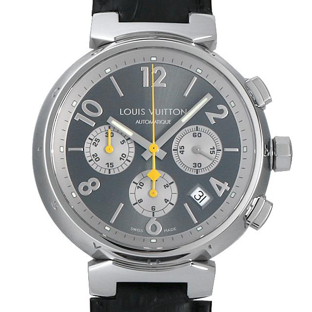 【48回払いまで無金利】ルイヴィトン タンブールクロノグラフ Q1120 メンズ(006XLVAU0010)【中古】【腕時計】【送料無料】