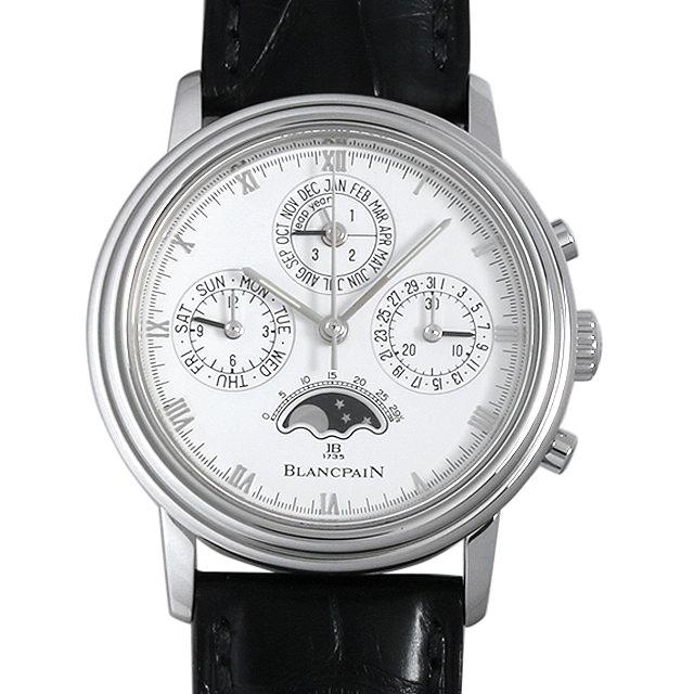 【48回払いまで無金利】ブランパン クラシック パーペチュアルカレンダー クロノグラフ B5580.1127.55.20 メンズ(007UBPAU0003)【中古】【腕時計】【送料無料】