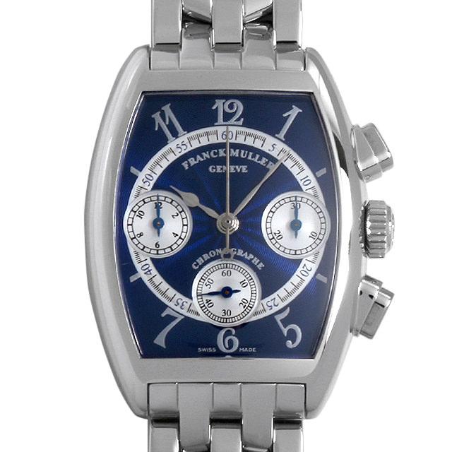 【48回払いまで無金利】フランクミュラー トノーカーベックス クロノグラフ 7502CC OAC ボーイズ(ユニセックス)(007UFRAU0126)【中古】【腕時計】【送料無料】