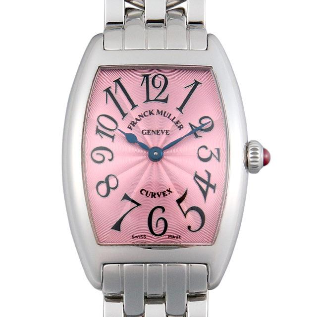 【48回払いまで無金利】フランクミュラー トノーカーベックス 1752QZ OAC レディース(007UFRAU0131)【中古】【腕時計】【送料無料】
