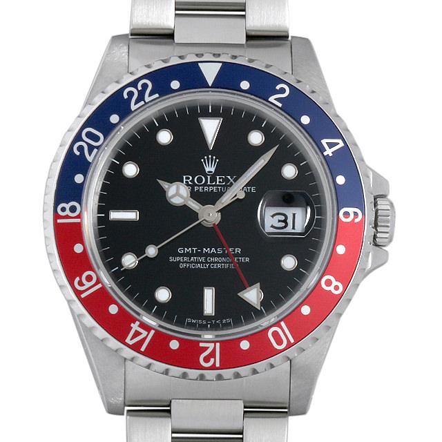 【48回払いまで無金利】SALE ロレックス GMTマスター 赤青ベゼル E番 16700 メンズ(007UROAU0297)【中古】【腕時計】【送料無料】