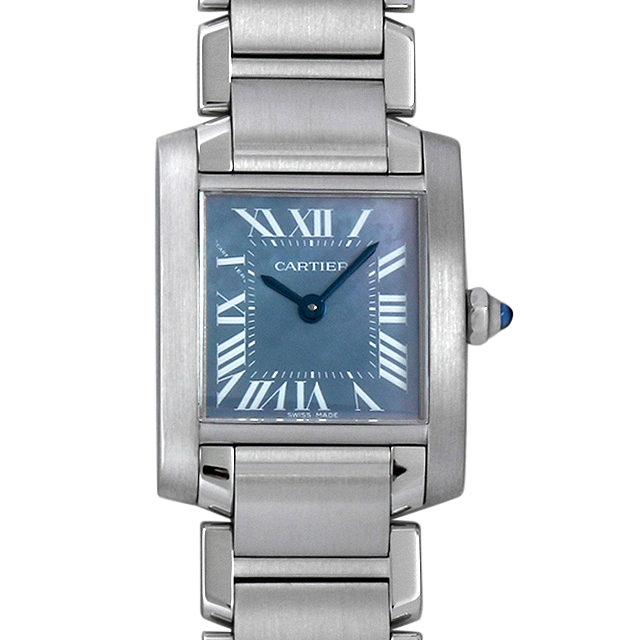 【48回払いまで無金利】カルティエ タンクフランセーズ W51034Q3 レディース(008WCAAU0111)【中古】【腕時計】【送料無料】