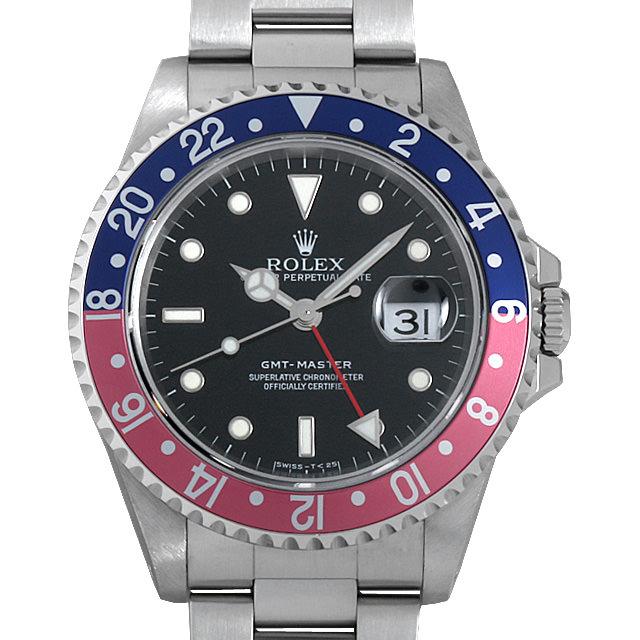 【48回払いまで無金利】SALE ロレックス GMTマスター 赤青ベゼル U番 16700 メンズ(008WROAU0210)【中古】【腕時計】【送料無料】
