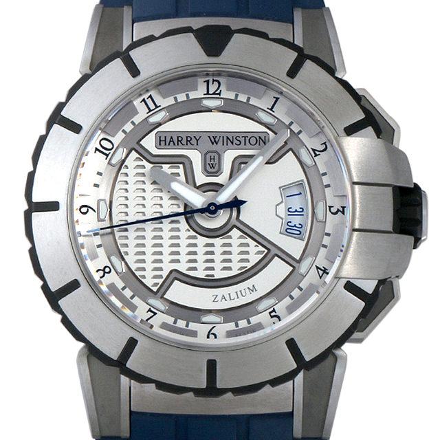 【48回払いまで無金利】ハリーウィンストン オーシャンスポーツ オートマチック OCSAHD44ZZ002 メンズ(009VHWAU0023)【中古】【腕時計】【送料無料】