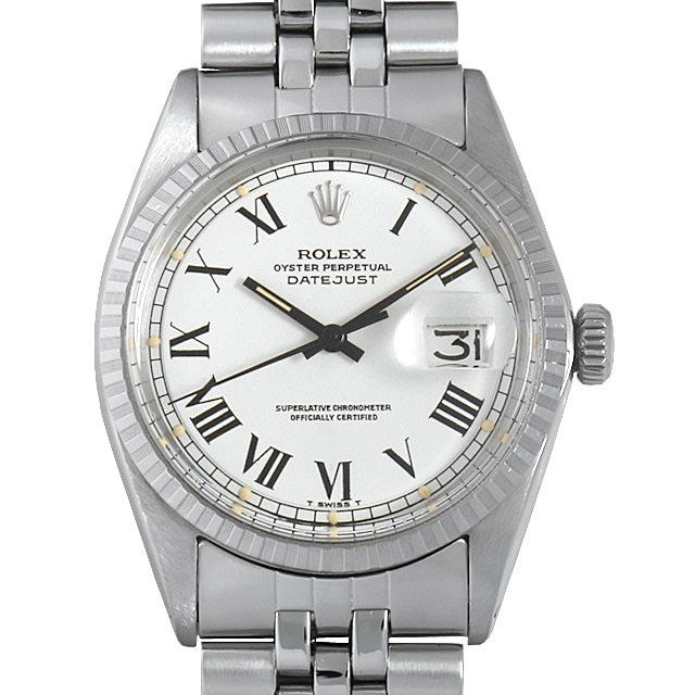 【48回払いまで無金利】ロレックス デイトジャスト 22番 1603 ホワイト/ローマ メンズ(041XROAA0001)【アンティーク】【腕時計】【送料無料】