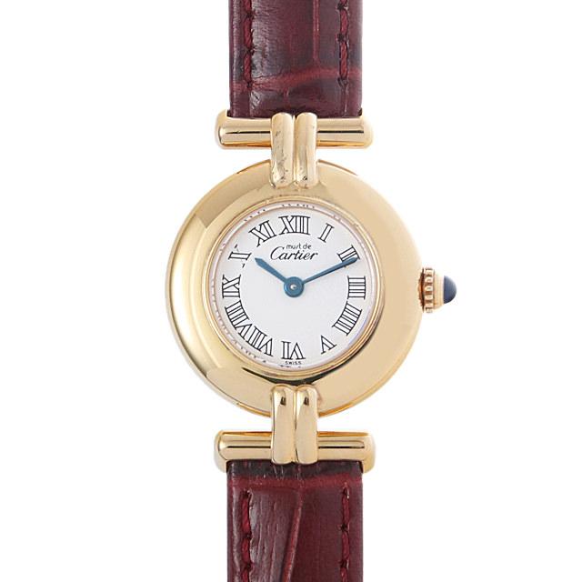 【48回払いまで無金利】カルティエ マストコリゼ W1011554 レディース(0BCCCAAU0013)【中古】【腕時計】【送料無料】