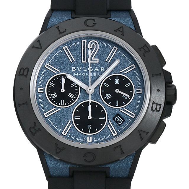 【48回払いまで無金利】ブルガリ ディアゴノ マグネシウム クロノグラフ DG42C3SMCVDCH メンズ(0COYBVAU0001)【中古】【腕時計】【送料無料】