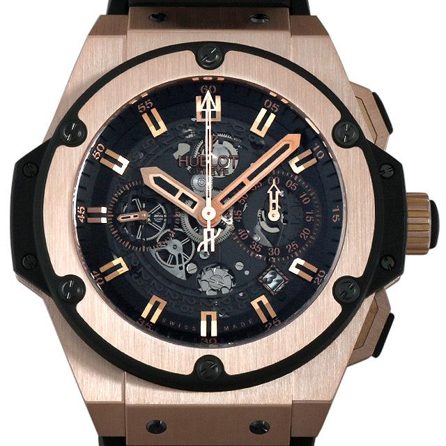 【48回払いまで無金利】ウブロ ビッグバン ウニコ キングゴールド 701.OX.0180.RX メンズ(0FVWHBAU0001)【中古】【腕時計】【送料無料】