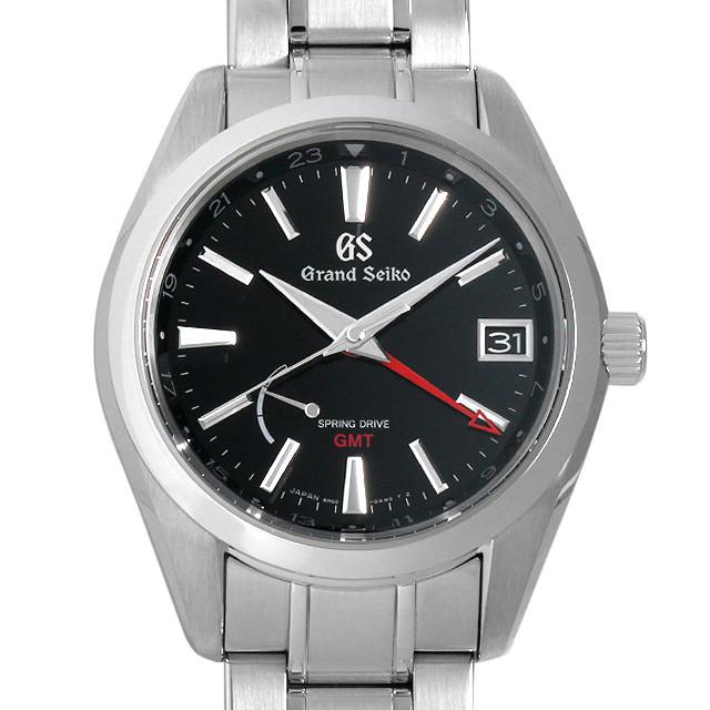 【48回払いまで無金利】SALE グランドセイコー 9Rスプリングドライブ GMTマスターショップ限定 SBGE211 メンズ(0GANGSAU0001)【中古】【腕時計】【送料無料】