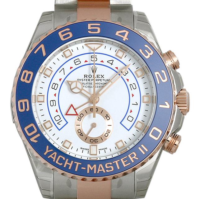 【48回払いまで無金利】ロレックス ヨットマスターII 116681 最新型 メンズ(0CCTROAN0019)【新品】【腕時計】【送料無料】