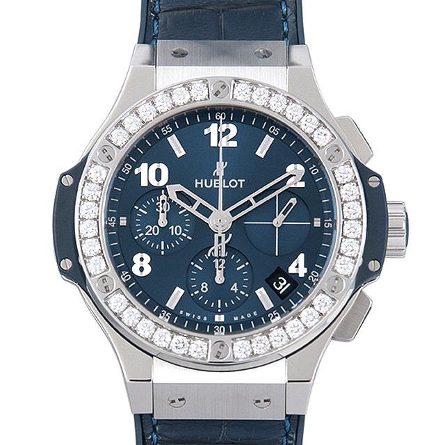 【48回払いまで無金利】ウブロ ビッグバン スチール ブルーダイヤモンド 341.SX.7170.LR.1204 メンズ(009FHBAN0124)【新品】【腕時計】【送料無料】