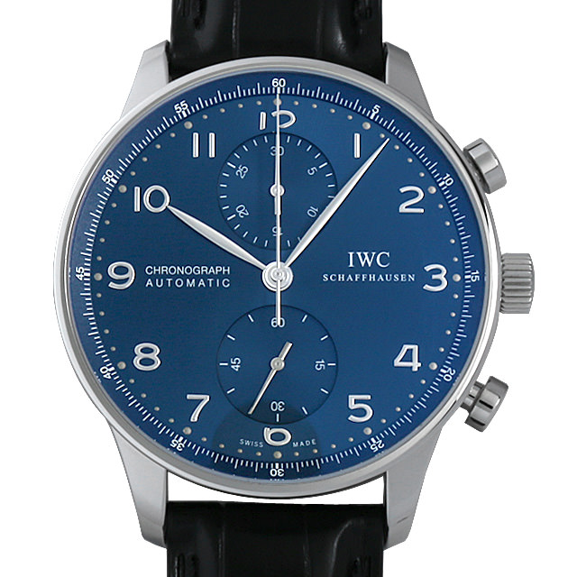 IWC ポルトギーゼ クロノグラフ IW371491 メンズ(0FHMIWAN0035)【新品】【腕時計】【送料無料】