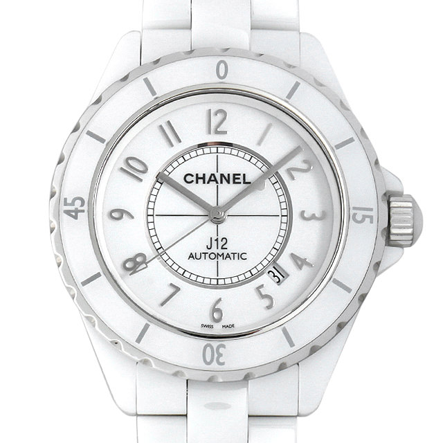 b16ca050b6a3 シャネルJ12白セラミックH2981メンズ(0087CHAU0004)【中古】【腕時計】【