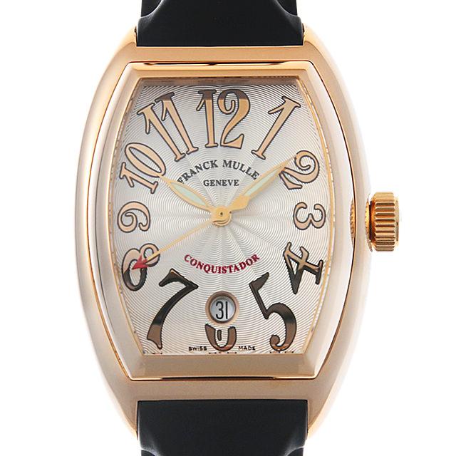 【48回払いまで無金利】フランクミュラー コンキスタドール 8002SC 4N メンズ(006TFRAU0008)【中古】【腕時計】【送料無料】