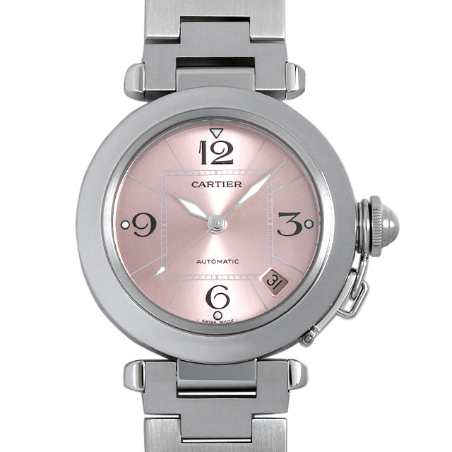 【48回払いまで無金利】カルティエ パシャC W31075M7 ボーイズ(ユニセックス)(006XCAAU0150)【中古】【腕時計】【送料無料】