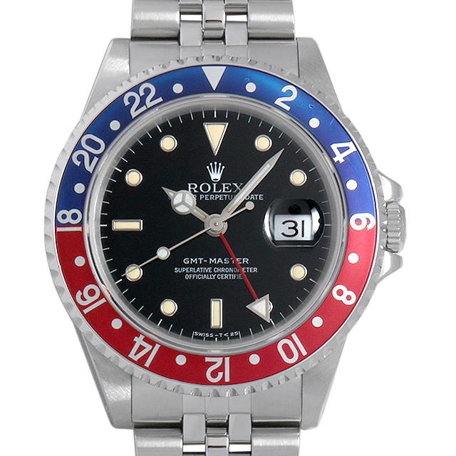 【48回払いまで無金利】ロレックス GMTマスター 赤青ベゼル N番 16700 ジュビリーブレス メンズ(007UROAU0315)【中古】【腕時計】【送料無料】