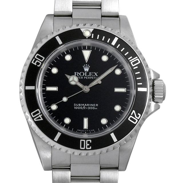 【48回払いまで無金利】ロレックス サブマリーナ ノンデイト X番 14060 メンズ(007UROAU0329)【中古】【腕時計】【送料無料】
