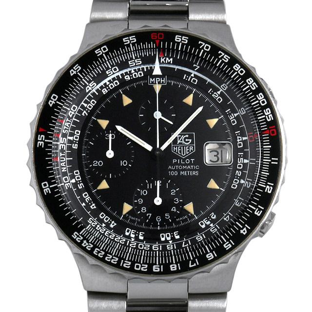 【48回払いまで無金利】タグホイヤー パイロット オートマチック クロノグラフ 130-206-Z メンズ(007UTHAU0028)【中古】【腕時計】【送料無料】
