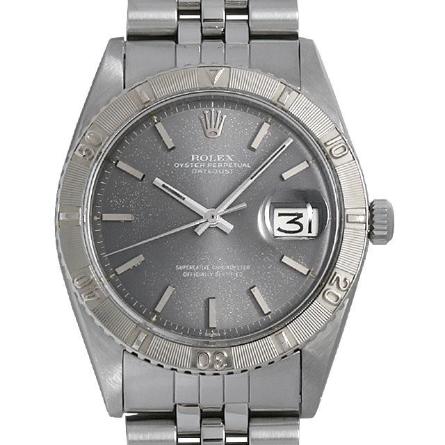 【48回払いまで無金利】ロレックス デイトジャスト サンダーバード 26番 1625 グレー/バー メンズ(008KROAA0007)【アンティーク】【腕時計】【送料無料】