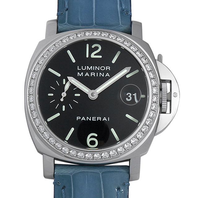 【48回払いまで無金利】パネライ ルミノールマリーナ ダイヤモンドコレクション E番 PAM00071 メンズ(008WOPAU0057)【中古】【腕時計】【送料無料】