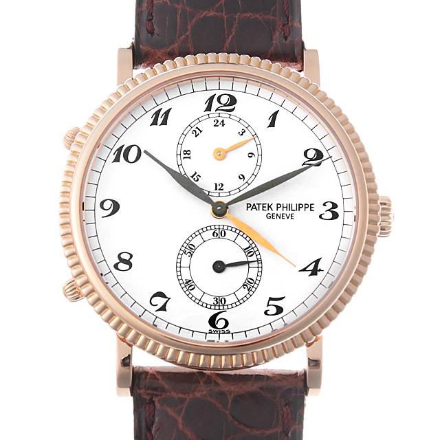 【48回払いまで無金利】パテックフィリップ カラトラバ トラベルタイム Cal.215PS 5034R メンズ(008WPPAU0073)【中古】【腕時計】【送料無料】