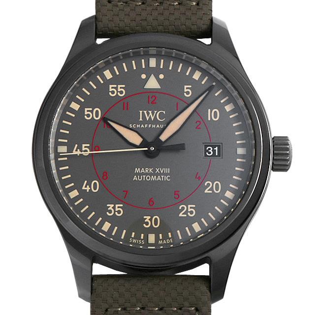 【48回払いまで無金利】IWC パイロットウォッチ マーク18 トップガン・ミラマー IW324702 メンズ(009VIWAU0055)【中古】【腕時計】【送料無料】