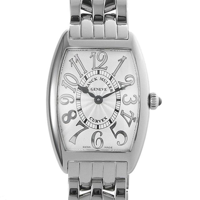 【48回払いまで無金利】フランクミュラー トノーカーベックス レリーフ 1752QZ RELIEF OAC レディース(0A89FRAU0009)【中古】【腕時計】【送料無料】