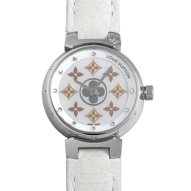 【48回払いまで無金利】SALE ルイヴィトン タンブール イディ-ル・ブロッサム Q12MS レディース(0A89LVAU0004)【中古】【腕時計】【送料無料】