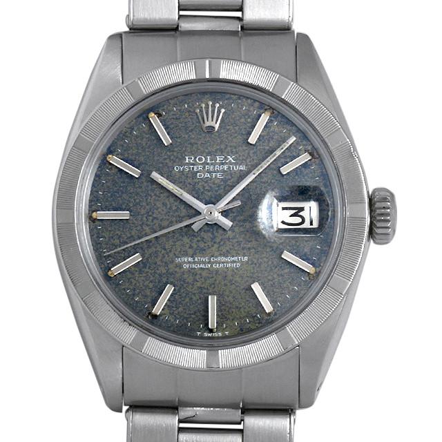 【48回払いまで無金利】ロレックス オイスターパーペチュアル デイト Cal.1570 23番 1501 ブルー メンズ(0G3CROAA0001)【アンティーク】【腕時計】【送料無料】