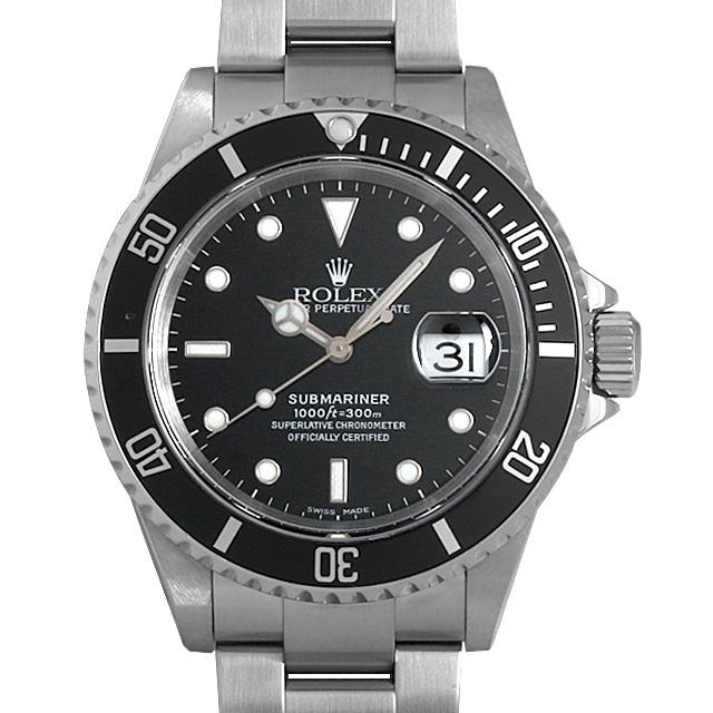 【48回払いまで無金利】ロレックス サブマリーナ デイト P番 16610 メンズ(0GUFROAU0001)【中古】【腕時計】【送料無料】