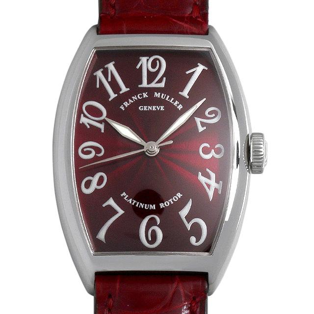 【48回払いまで無金利】フランクミュラー トノーカーベックス 5850SC AC メンズ(0GYFFRAU0001)【中古】【腕時計】【送料無料】