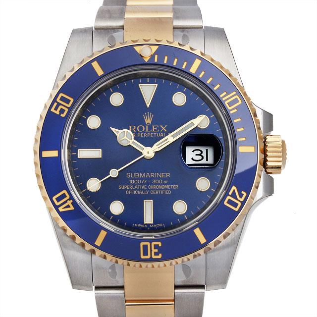 【48回払いまで無金利】ロレックス サブマリーナ デイト 116613LB メンズ(07WDROAN0026)【新品】【腕時計】【送料無料】