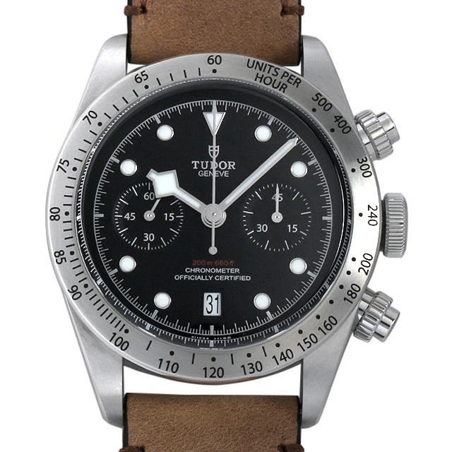 【48回払いまで無金利】チュードル ヘリテージ ブラックベイ クロノグラフ 79350 メンズ(0FHMTUAN0002)【新品】【腕時計】【送料無料】