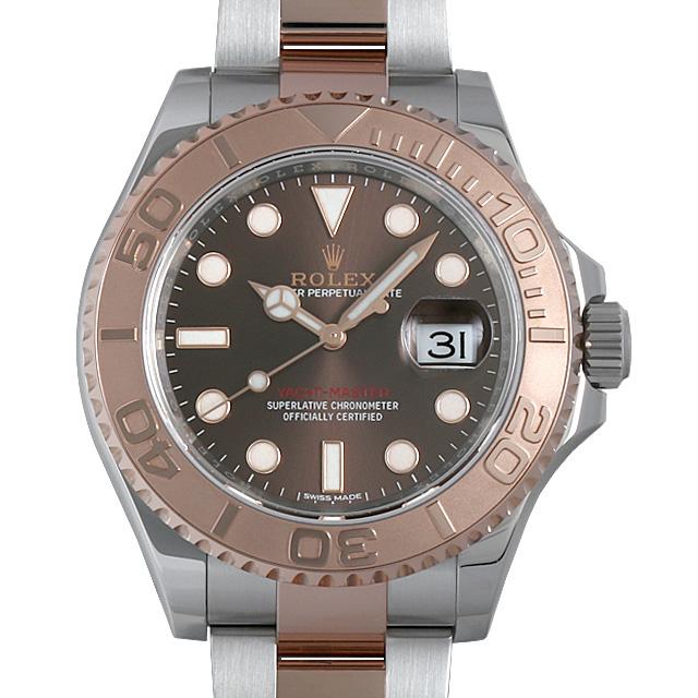 【48回払いまで無金利】ロレックス ヨットマスター40 116621 チョコレートブラウン メンズ(001HROAU0197)【中古】【腕時計】【送料無料】