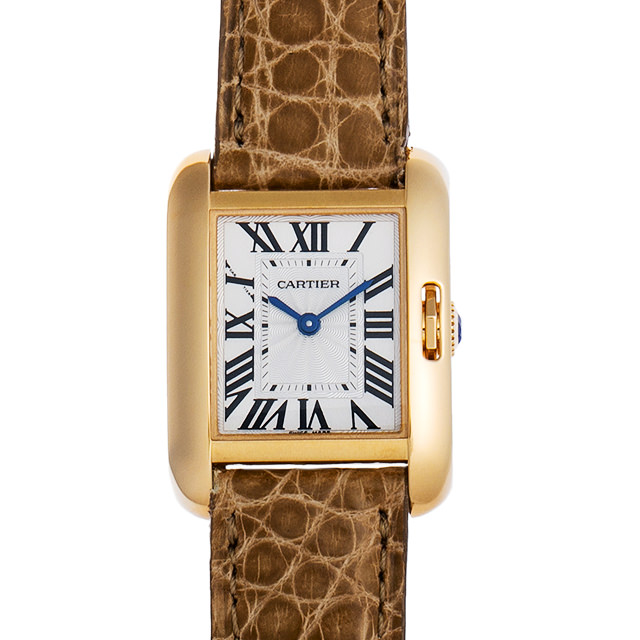 【48回払いまで無金利】カルティエ タンクアングレーズ W5310028 レディース(0050CAAU0029)【中古】【腕時計】【送料無料】
