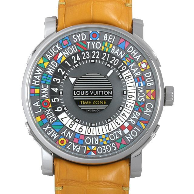 【48回払いまで無金利】SALE ルイヴィトン エスカル タイムゾーン Q5D200 メンズ(006XLVAU0011)【中古】【腕時計】【送料無料】