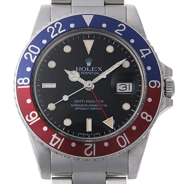 【48回払いまで無金利】ロレックス GMTマスター 赤青ベゼル 82番 16750 スパイダーダイヤル メンズ(006XROAU0624)【中古】【腕時計】【送料無料】