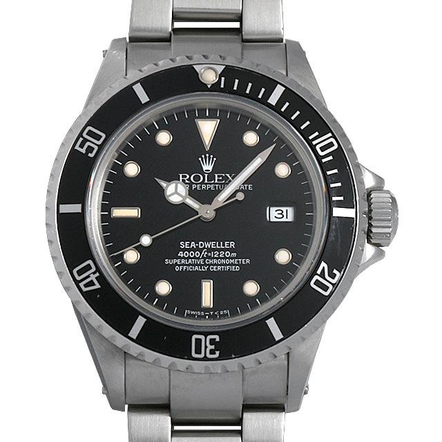 【48回払いまで無金利】ロレックス シードゥエラー L番 16600 メンズ(006XROAU0680)【中古】【腕時計】【送料無料】