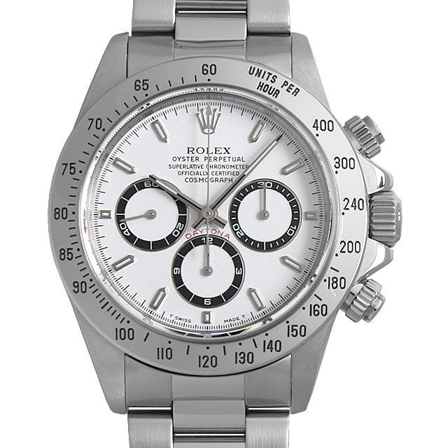 【48回払いまで無金利】ロレックス コスモグラフ デイトナ T番 16520 ホワイト メンズ(006XROAU0723)【中古】【腕時計】【送料無料】