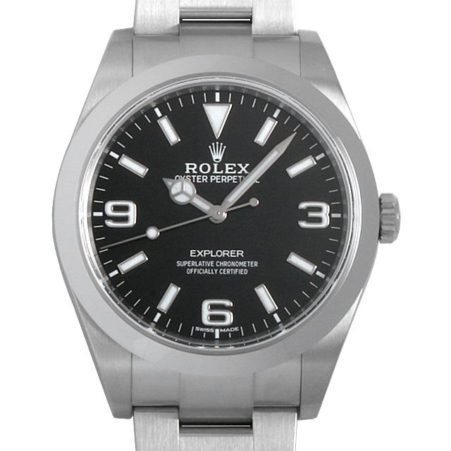 【48回払いまで無金利】ロレックス エクスプローラー 最新型 214270 メンズ(006XROAU0726)【中古】【腕時計】【送料無料】